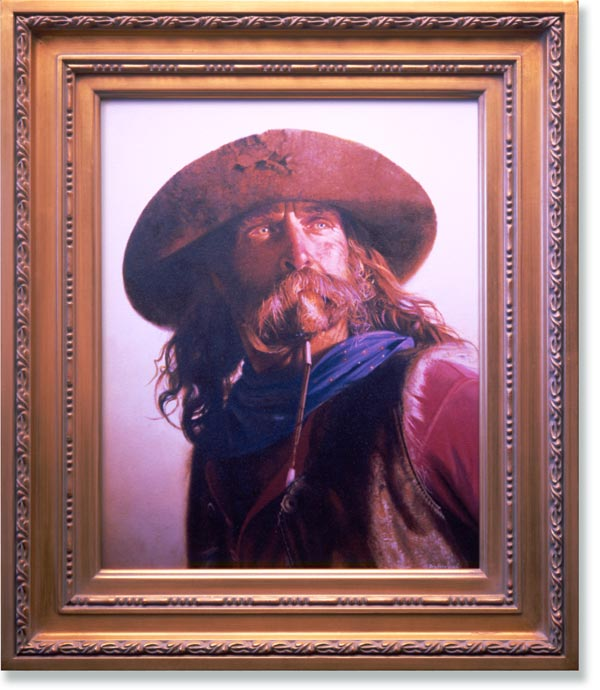 Don Crowley Fine Art Print - The Gunfighter